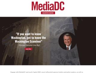 influence.mediadc.com screenshot