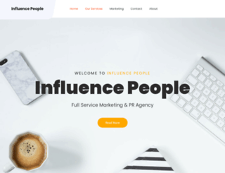 influencepeople.com screenshot