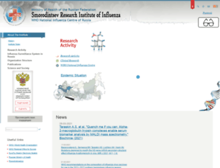 influenza.spb.ru screenshot
