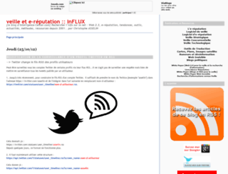 influx.joueb.com screenshot