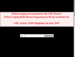 info-cdu-leipzig.de.tf screenshot
