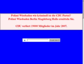 info-cdu-wiesbaden.de.tf screenshot