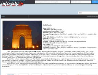 info-city.in screenshot