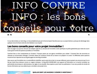 info-contre-info.fr screenshot