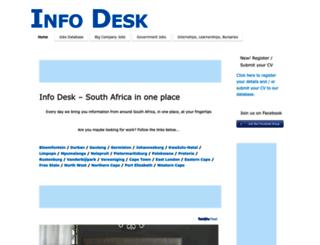 info-desk.co.za screenshot