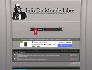 info-du-monde-libre.forum-officiel.com screenshot