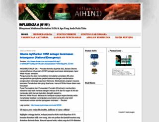 info-h1n1.blogspot.com screenshot