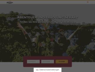 info-harz.de screenshot