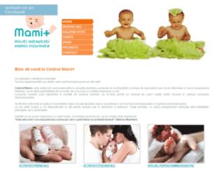 info-mami.ro screenshot