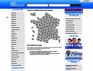 info-medecin.fr screenshot