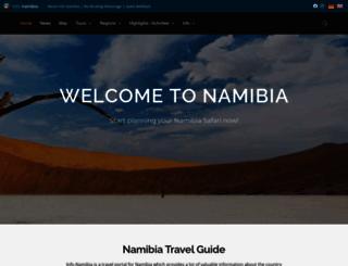 info-namibia.com screenshot