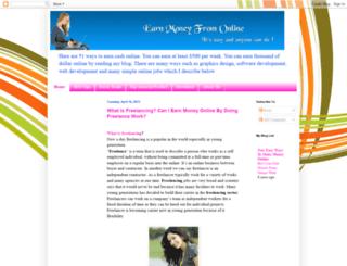 info-online-earn.blogspot.com screenshot
