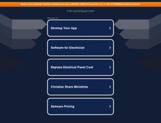 info-pratique.com screenshot