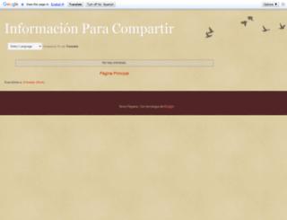 info-shared.blogspot.mx screenshot