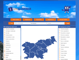 info-slovenija.si screenshot