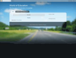 info-worldedu.blogspot.com screenshot