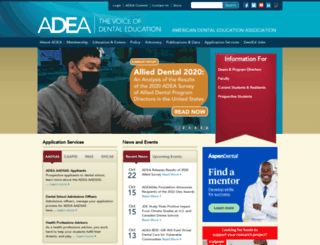 info.adea.org screenshot