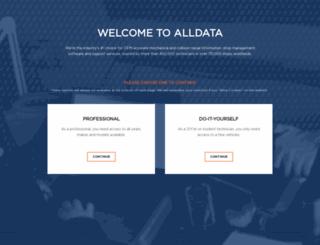 info.alldata.com screenshot