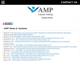 info.ampfutures.com screenshot