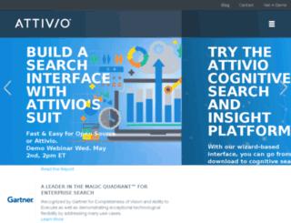 info.attivio.com screenshot