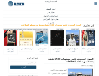 info.bmfn-arab.com screenshot