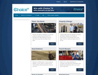 info.choicetv.co.nz screenshot