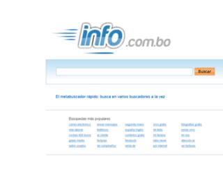 info.com.bo screenshot