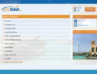 info.easyticket.se screenshot