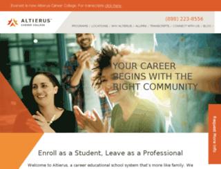 info.everestonline.edu screenshot