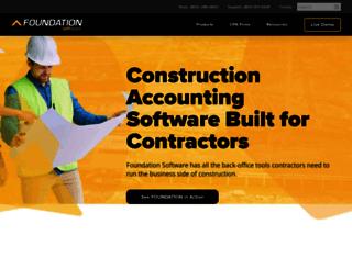 info.foundationsoft.com screenshot