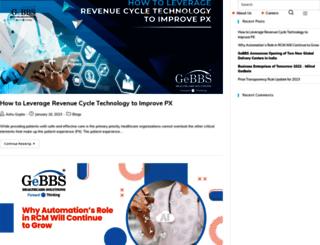 info.gebbs.com screenshot