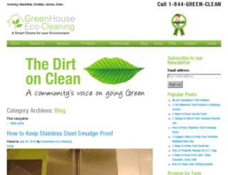 info.greenhouseecocleaning.com screenshot