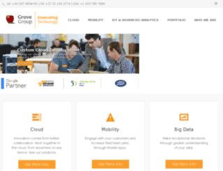 info.groveis.com screenshot