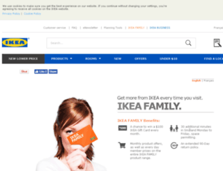 info.ikea.ca screenshot