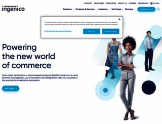 info.ingenico.us screenshot