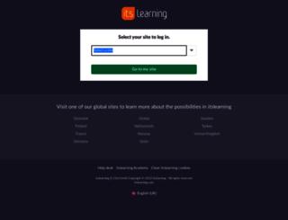 info.itslearning.net screenshot