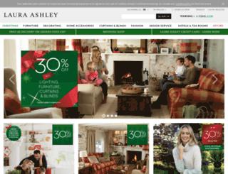 info.lauraashley.com screenshot