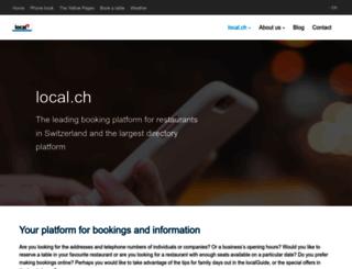 info.local.ch screenshot