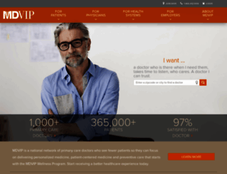 info.mdvip.com screenshot