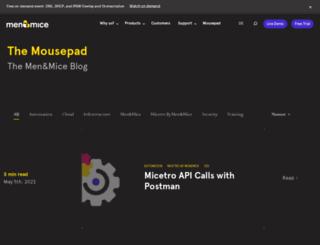 info.menandmice.com screenshot