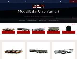 info.modellbahnunion.com screenshot