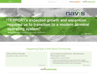 info.navis.com screenshot
