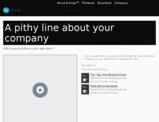 info.nutonian.com screenshot