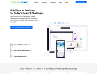 info.nuxeo.com screenshot
