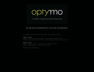 info.optymo.fr screenshot