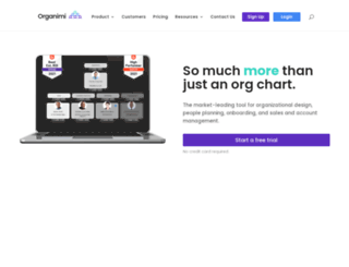 info.organimi.com screenshot