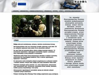 info.policja.pl screenshot