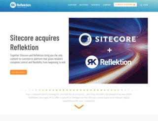 info.reflektion.com screenshot