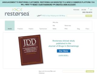 info.restorsea.com screenshot