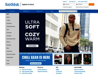 info.sanmar.com screenshot
